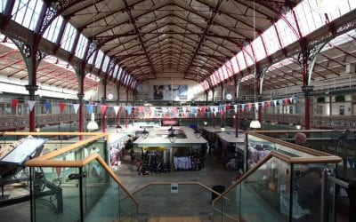 Indoor stalls and units available in Accrington Market