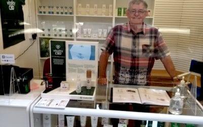 Green Leaf trader opens up in Accrington Market