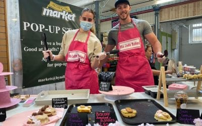Market pop-up stalls a sell out